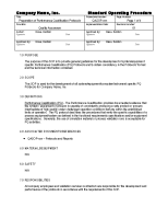 protocol document template - batch record review checklist template example